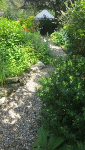 Newly gravelled path