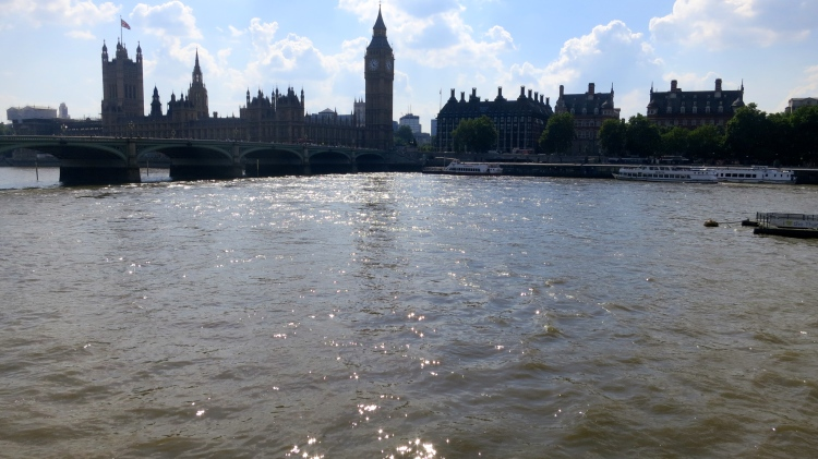 River Thames and Houses of Parliament