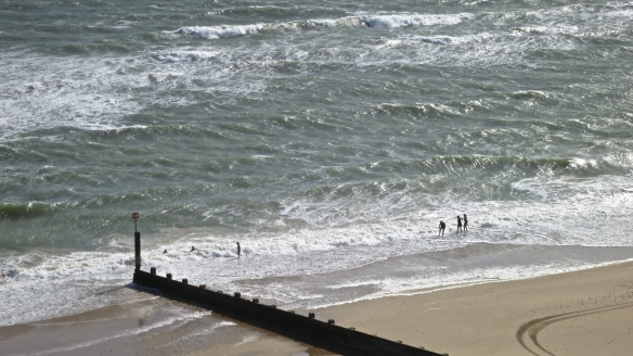 Boscombe beach figures