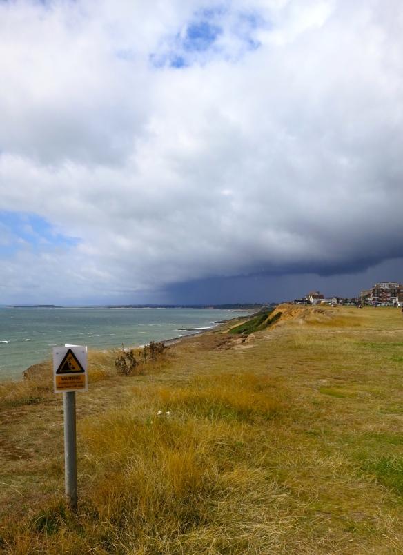 Cliff edge warning 1