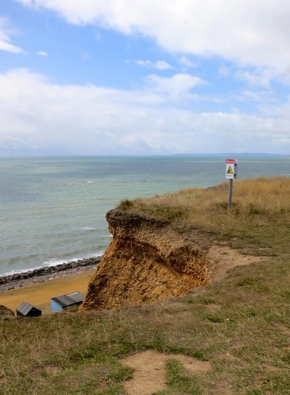 Cliff edge warning  2