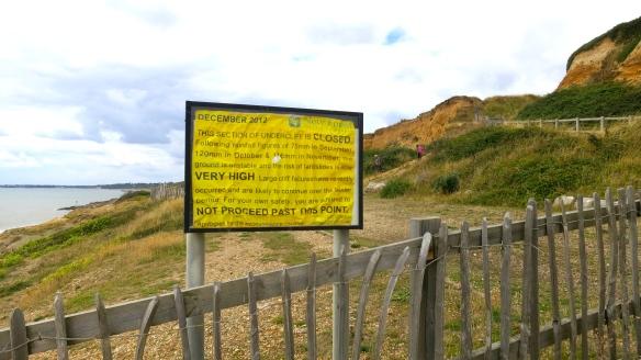 Closed cliff
