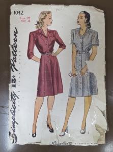 Dressmaking pattern