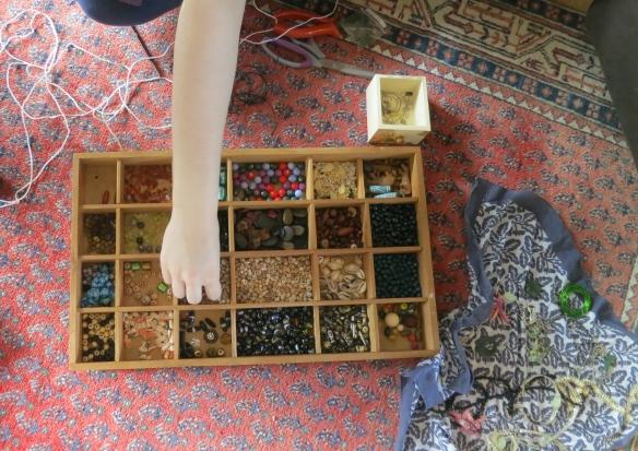 Flo sorting beads