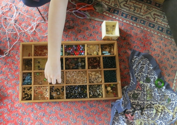 Flo sorting beads