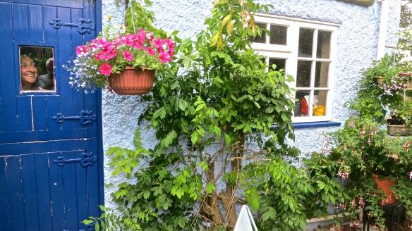 Jackie and wisteria