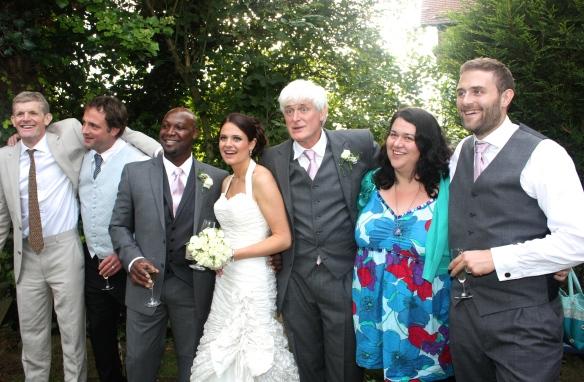 Michael, Matthew, Errol, Louisa, Derrick, Becky & Sam 5.9.09