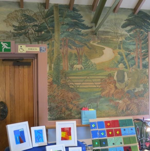 Poachers on Castle Hill mural