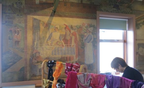 Salisbury Infirmary mural
