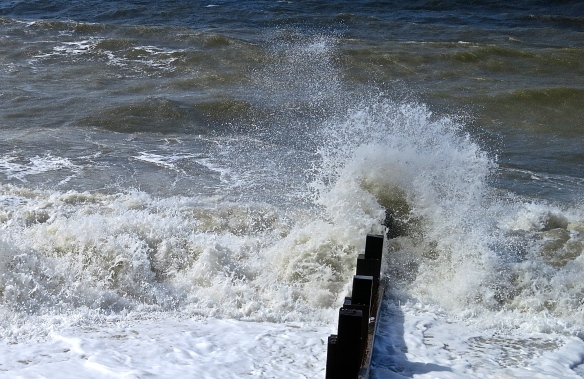 Sea, spray