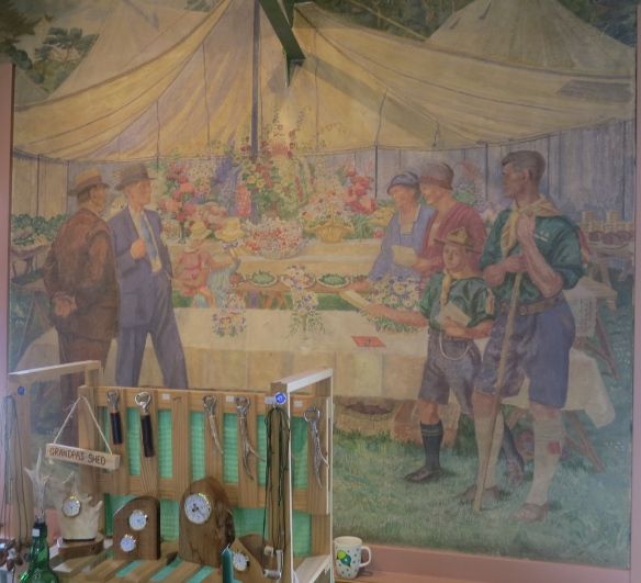 The Flower Show mural