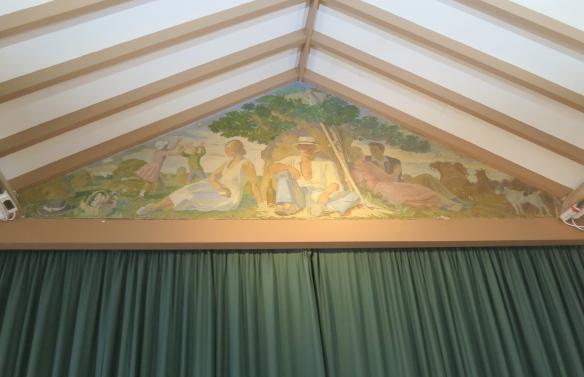 The Woodgreen Artists mural