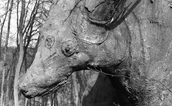 Tree like deer 1982 2