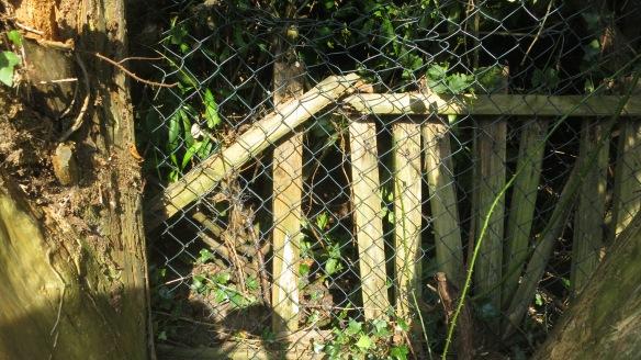 Back drive fence 3