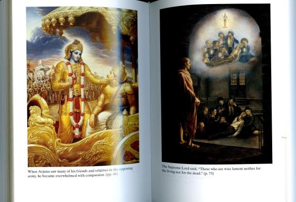 Bhagavad Gita illustrations