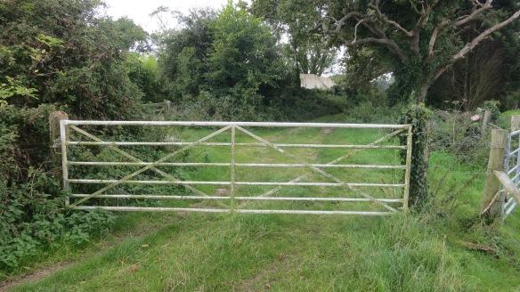 Five barred gate