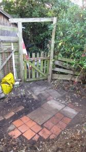 Garden gate path
