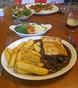 Meals at Plough Inn