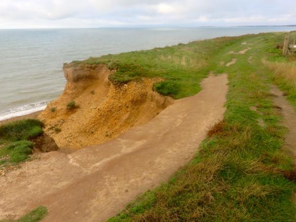 Cliff top path