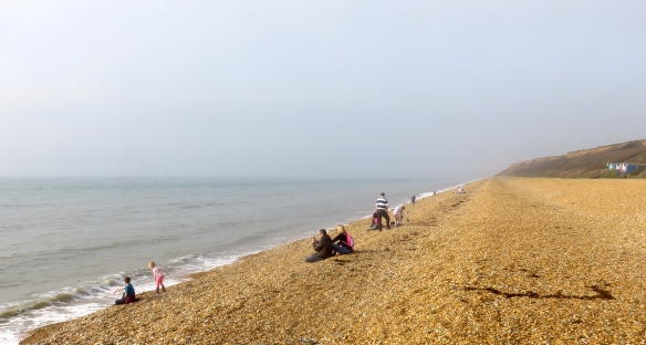 Families on shingle