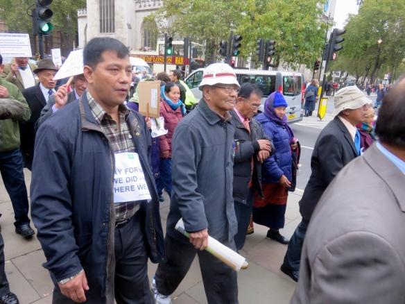 Gurkha demonstration 3