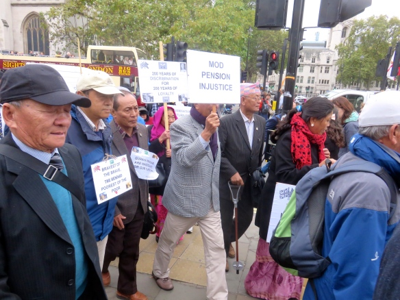 Gurkha demonstration 4