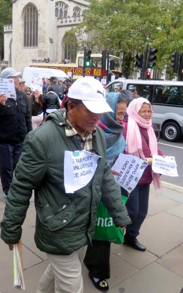 Gurkha demonstration 6