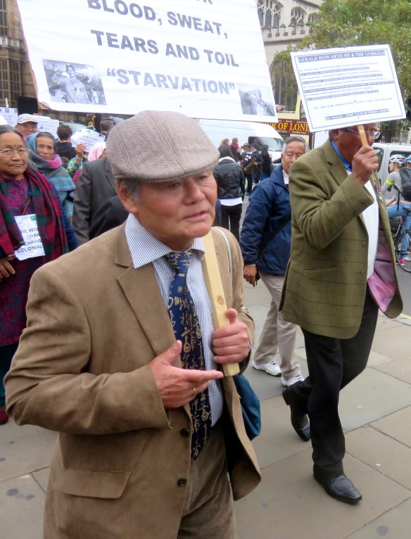 Gurkha demonstration 7