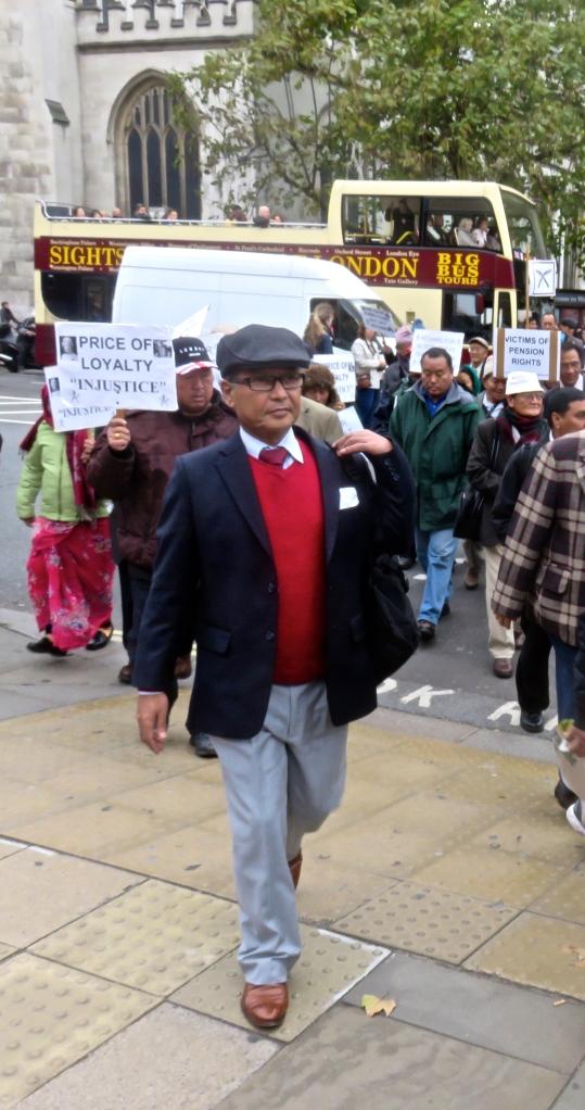 Gurkha demonstration 9