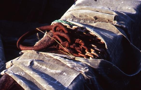 Rusty chain, Portland Bill 9.08 copy