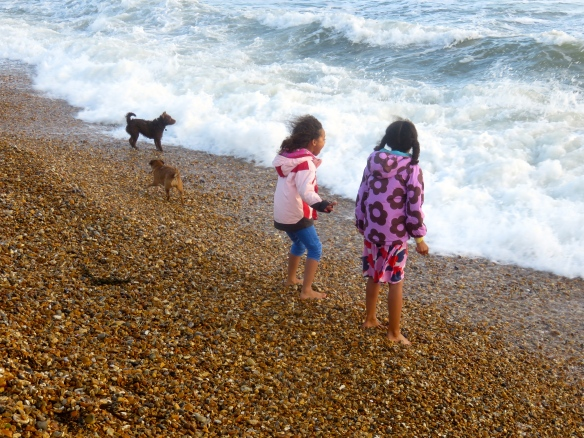 Imogen, Jessica and dogs