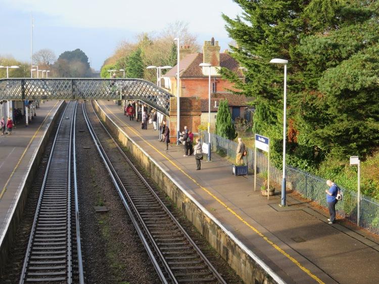 New Milton station