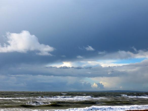 Sea and cloudscape