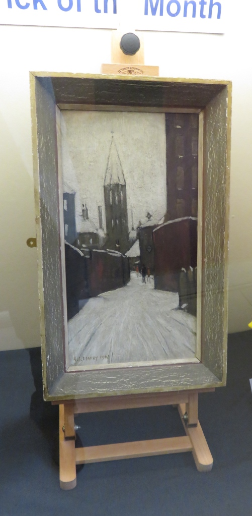 Winter in Pendlebury - L.S.Lowry