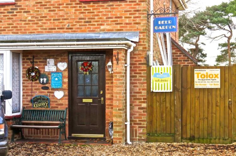Beer Garden house