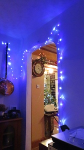 Christmas lights in study 3