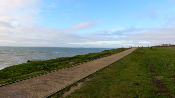 Clifftop footpath