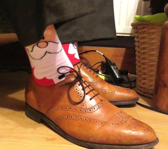 Father Christmas socks