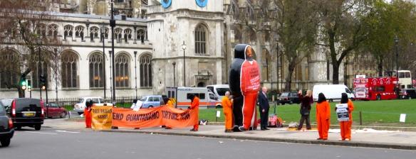 Guantanamo demonstration