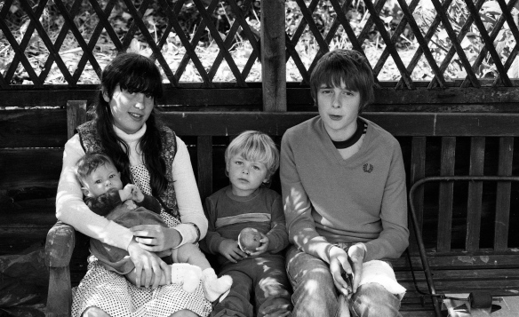 Becky, Louisa, Sam & Mathew 1982 1
