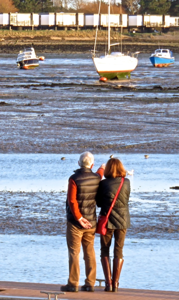 Couple on jetty