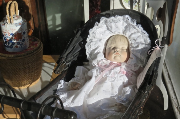 Doll in The Village Window