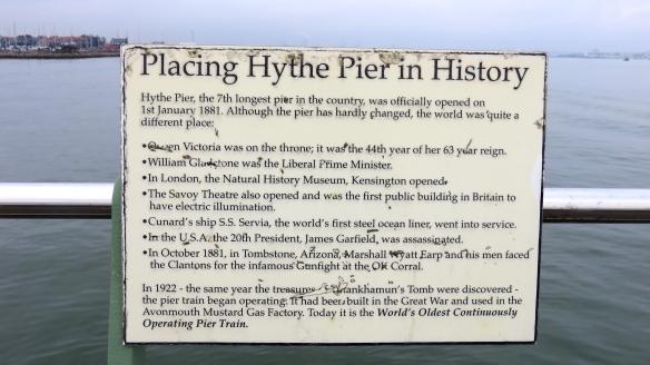Hythe Pier History