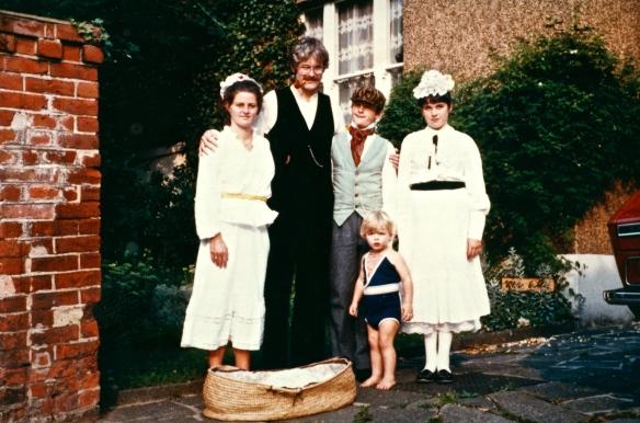 Jessica, Derrick, Matthew, Becky and Sam 1982