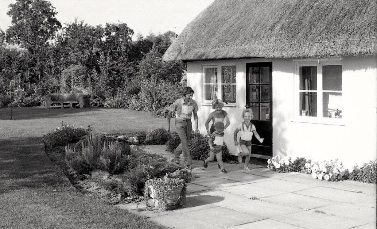 Matthew, Susie, Tim and Sam 1982