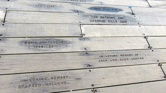 Pier plank engraving 1