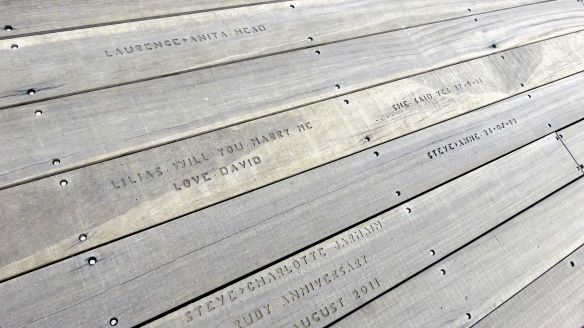 Pier plank engraving 2