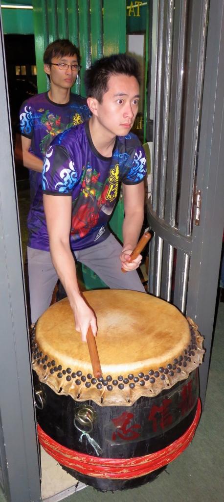 Lion Dance drummers 1
