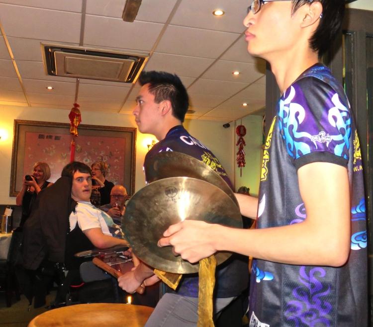 Lion Dance drummers 2