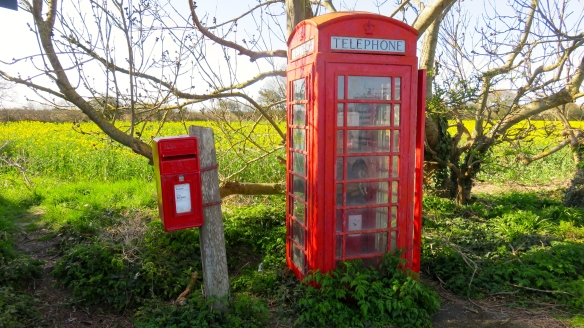 Letter and Telephone boxes